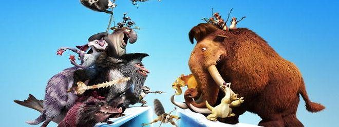 Ice Age 4 war ein Kassenschlager im Kinosommer.