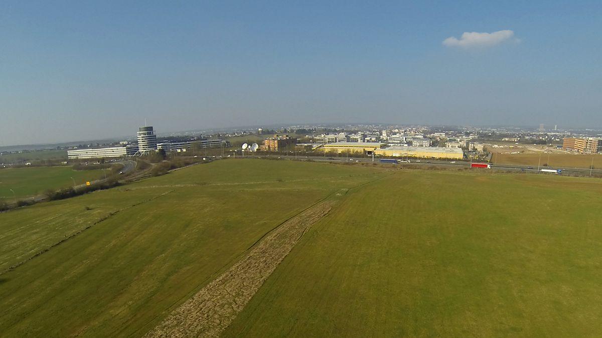 Hier wird das neue Fußballstadion entstehen, das, so lautet der Plan, im Jahr 2019 eröffnet wird.