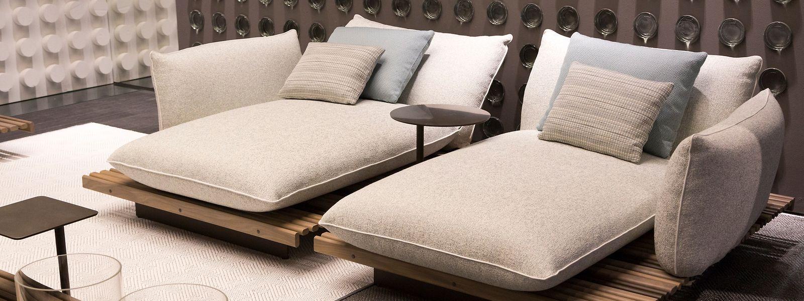"""Vom Outdoor-Bereich inspiriert:Schlafzimmer """"Pure Atmospheres"""" von Giorgetti."""