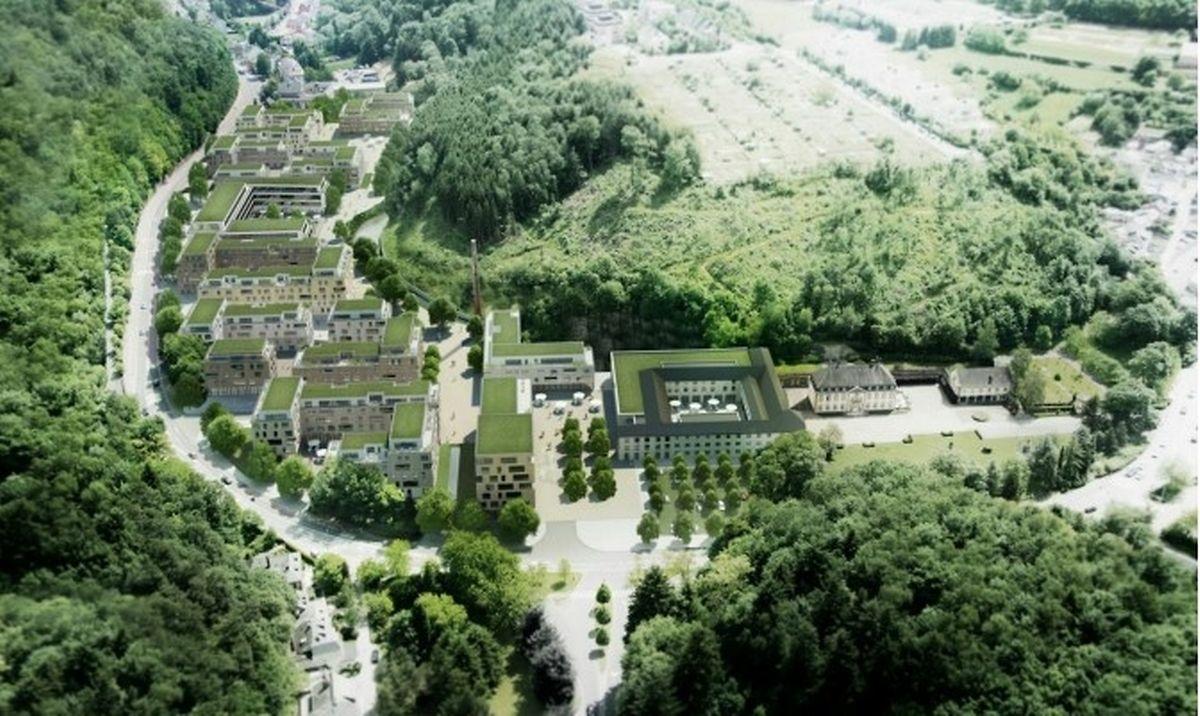 Le futur quartier qui prendra place sur l'emplacement de l'ancienne usine Villeroy&Boch