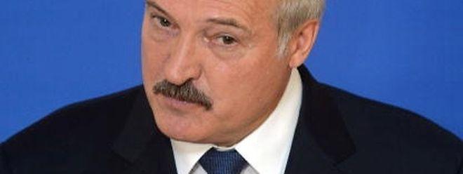O presidente Alexander Lukashenko é considerado pela UE o último ditador da Europa