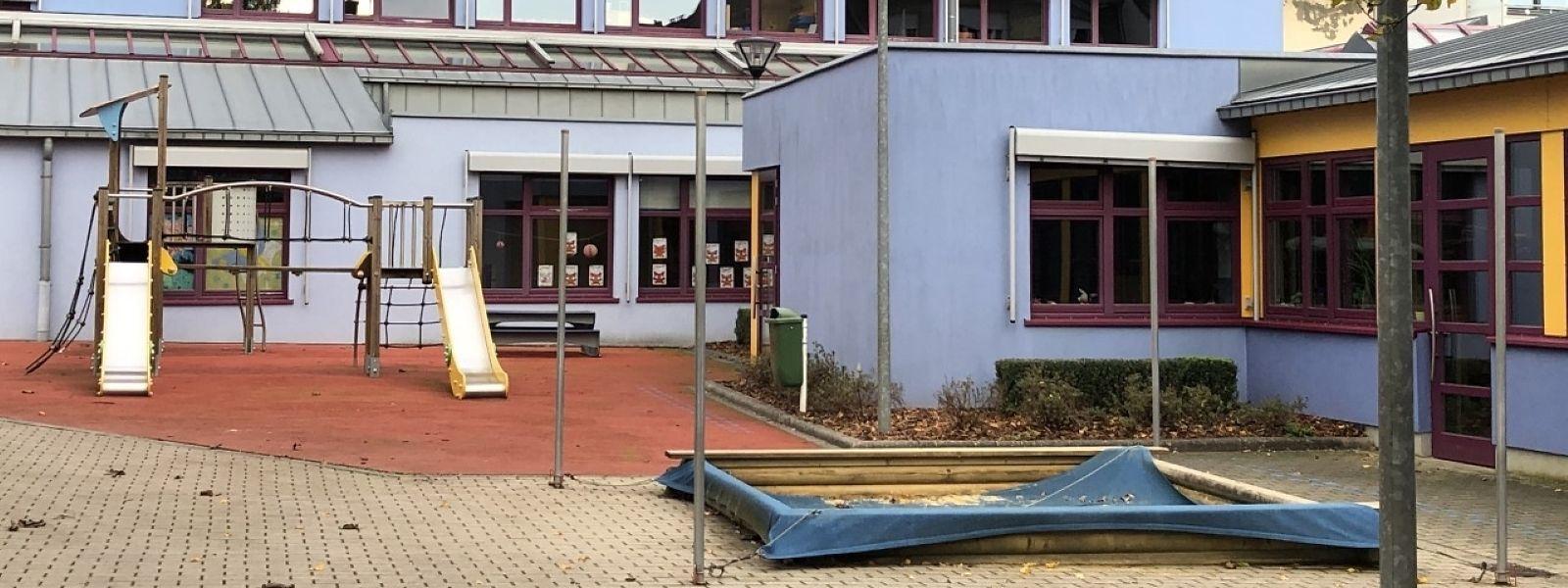 Das Vorschulgebäude an der Rue Dr. Klein bleibt voraussichtlich noch bis Mittwoch geschlossen.