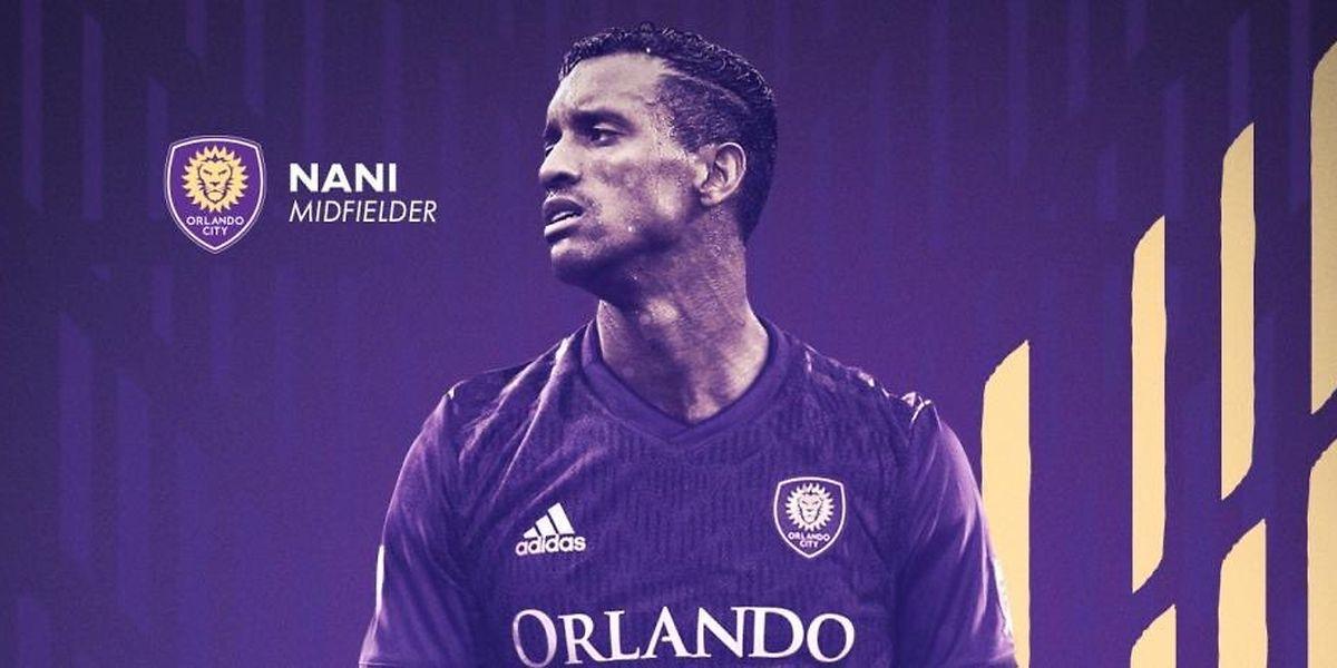 Nani a signé un contrat de trois ans avec Orlando.