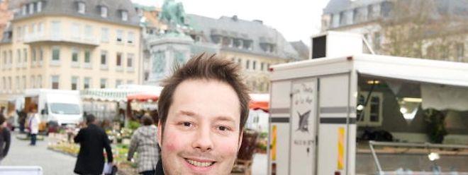 Auf Streifzug am Knuedler: Autor Tom Hillenbrand sammelt auf seinen Kurztripps nach Luxemburg immer wieder neues Lokalkolorit für seine Krimis.