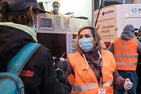 Lok , Report Strossen Englen , Strossenengelen , Anges de la Rue , Hilfe für Obdachlose , beim Abrigado  , Foto:Guy Jallay/Luxemburger Wort