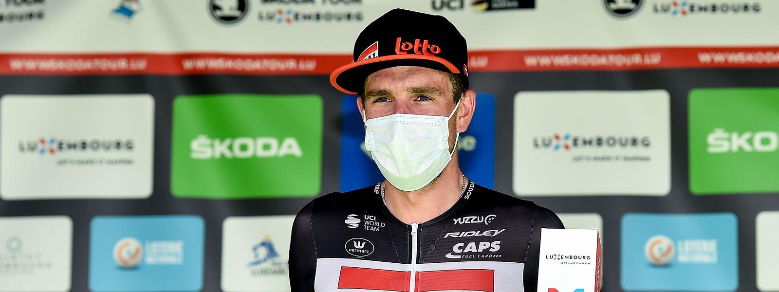 O alemão John Degenkolb venceu a terceira etapa da Skoda Tour.