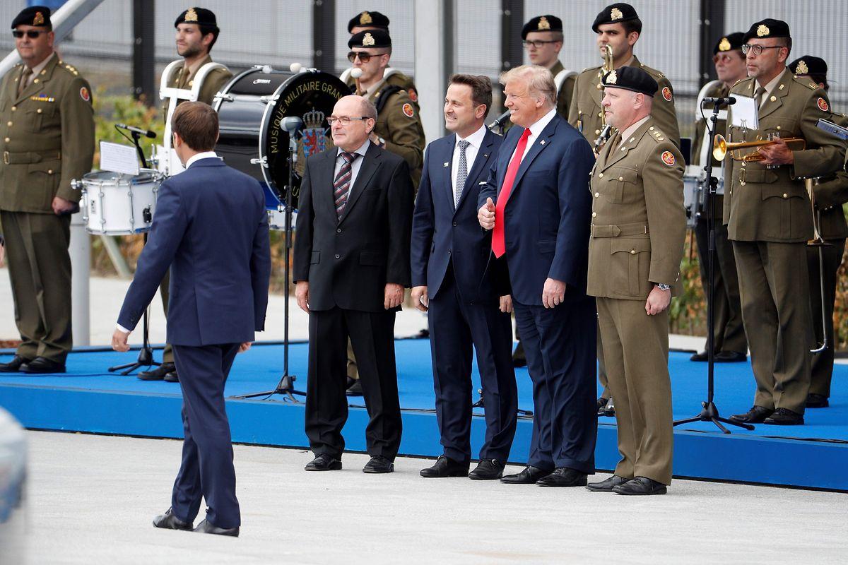 Vor dem Gipfel hatte US-Präsident Trump mit dem luxemburgischen Regierungschef für ein Foto posiert.