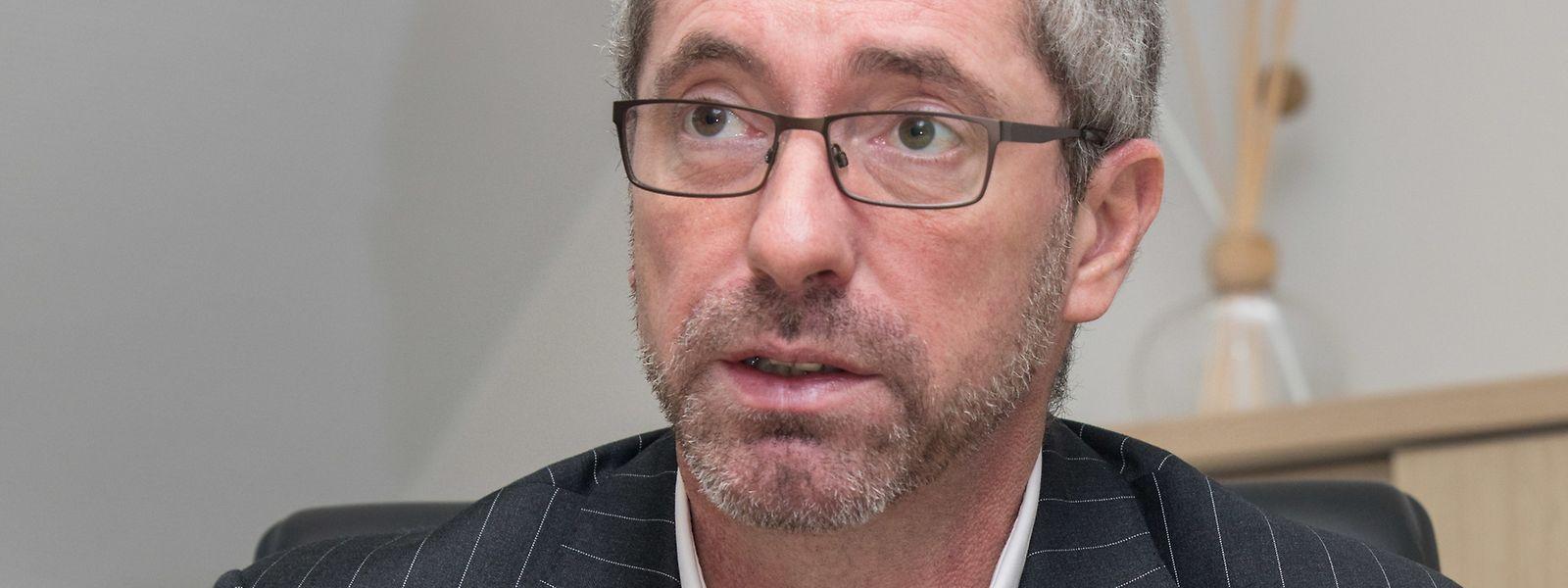 """Der Europaabgeordnete und neue CSV-Parteichef Frank Engel will im Hinblick auf die anstehenden Europawahlen """"ein Zeichen setzen""""."""