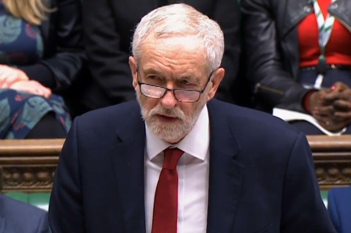 Neben Premierminister Brois Johnson sprach auch Oppositionsführer Jeremy Corbyn am Freitagmorgen vor dem britischen Unterhaus.