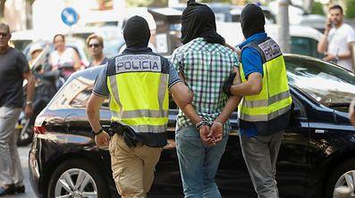 Die spanische Polizei nahm vier mutmaßliche IS-Gefolgsleute in Palma de Mallorca fest.