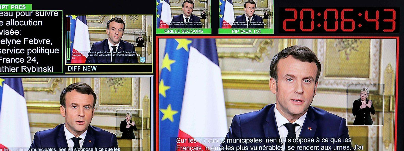 Pour Emmanuel Macron, «il faut éviter le repli nationaliste, ce virus n'a pas de passeport»