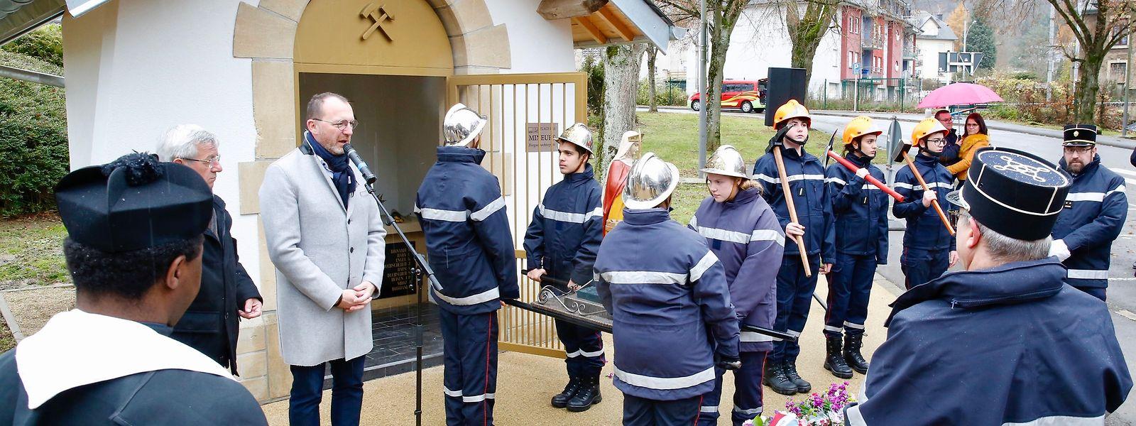 Am 1. Dezember wurde die Kapelle von Bürgermeister Georges Engel (LSAP) eingeweiht.