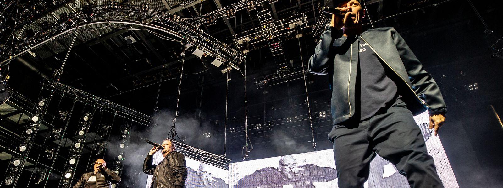 Die Fantastischen Vier zauberten eine coole Show auf die Bühne.
