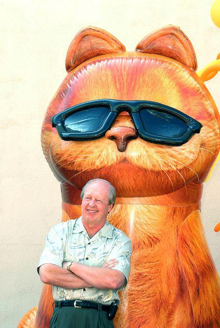Jim Davis, US-amerikanischer Cartoonist, wird 75.