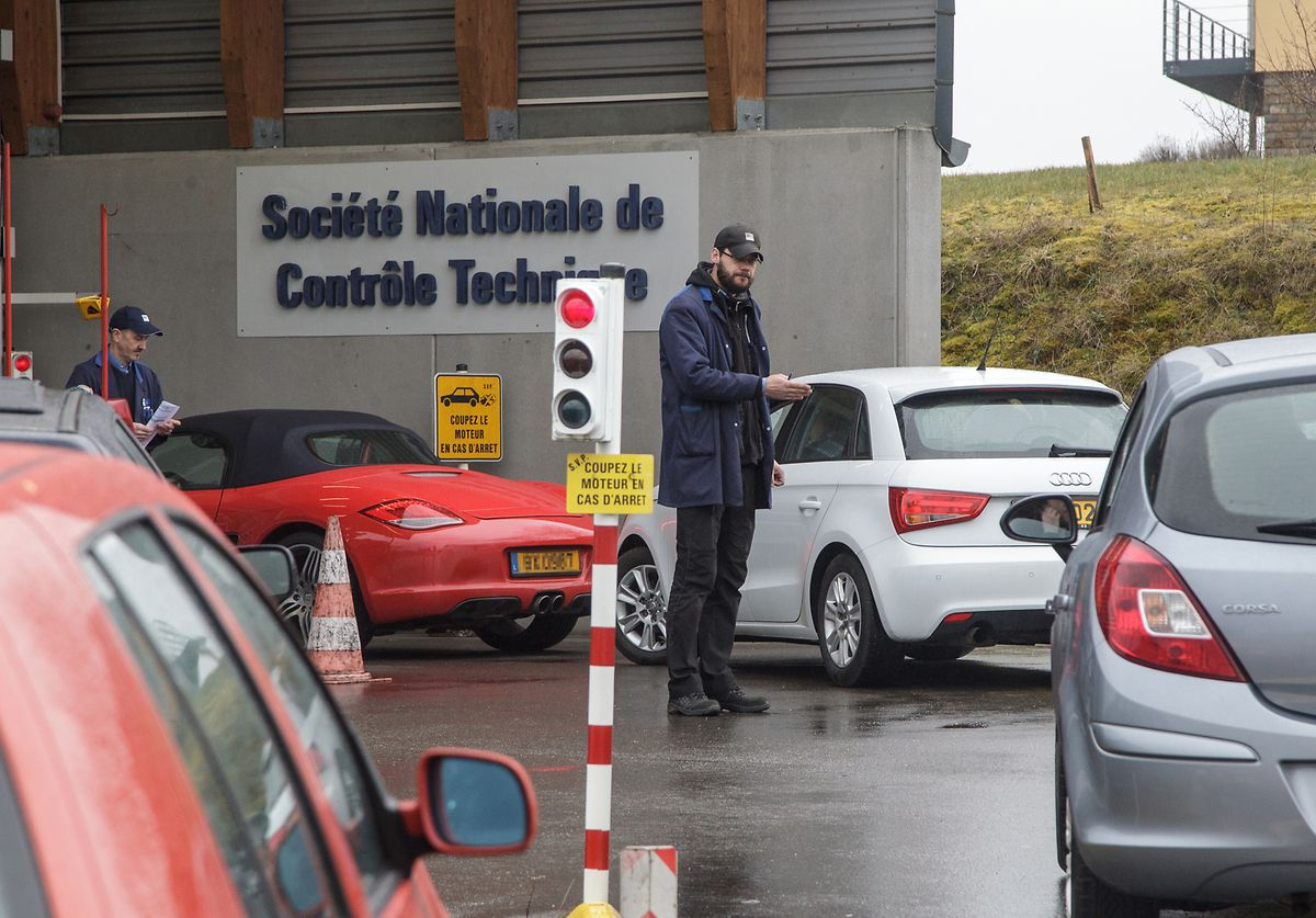 SNCT operates an appointment only for technical inspections Photo: Guy Jallay