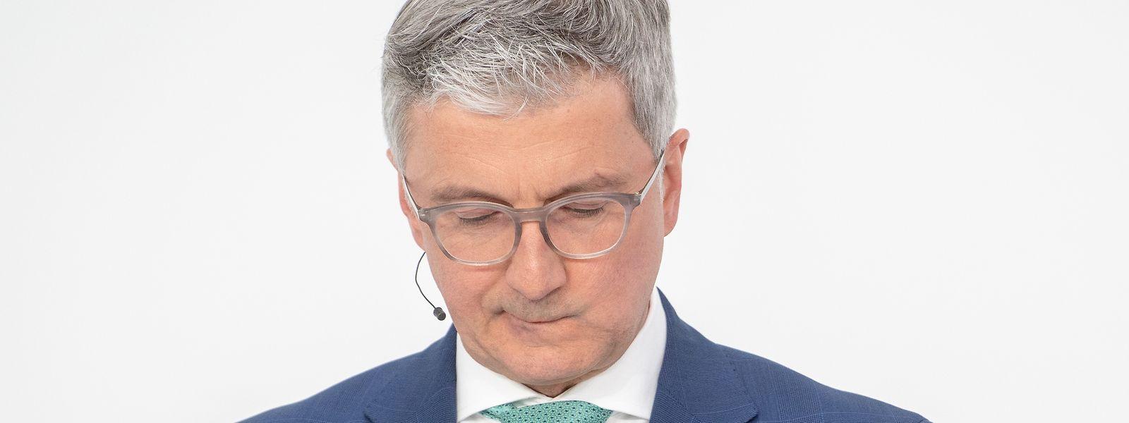 Rupert Stadler, jetzt beurlaubter Vorstandsvorsitzender des Fahrzeugherstellers Audi AG, muss in Untersuchungshaft bleiben.