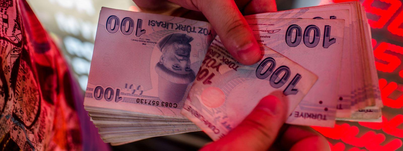 Die Türkei kämpft gerade mit einer massiven Währungskrise.