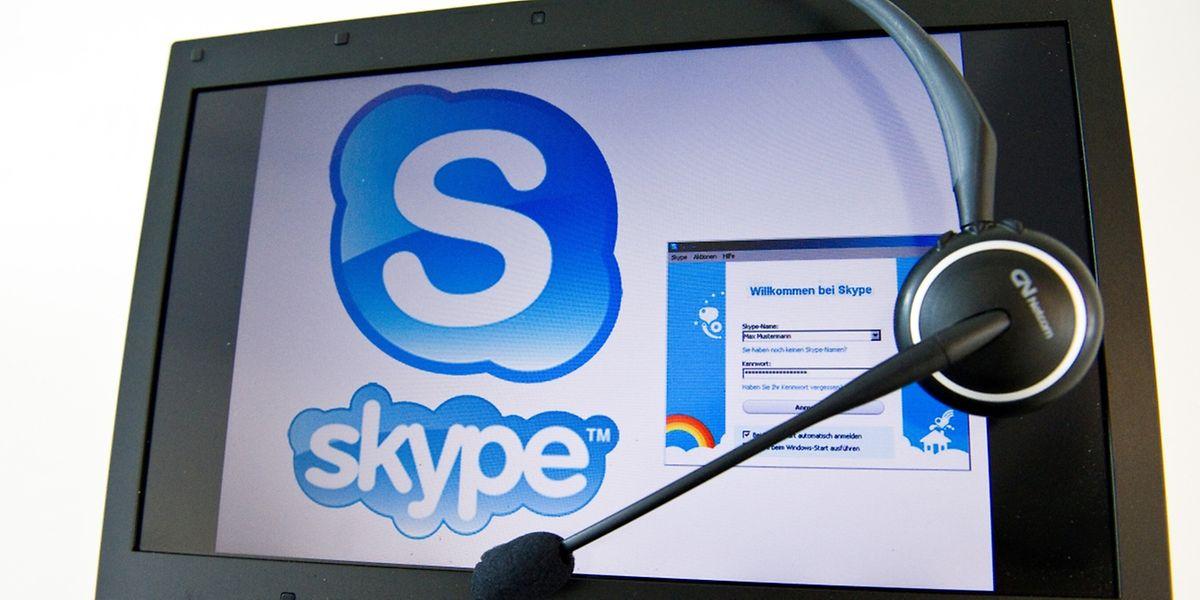 Skype ist ein Chat-Klassiker.