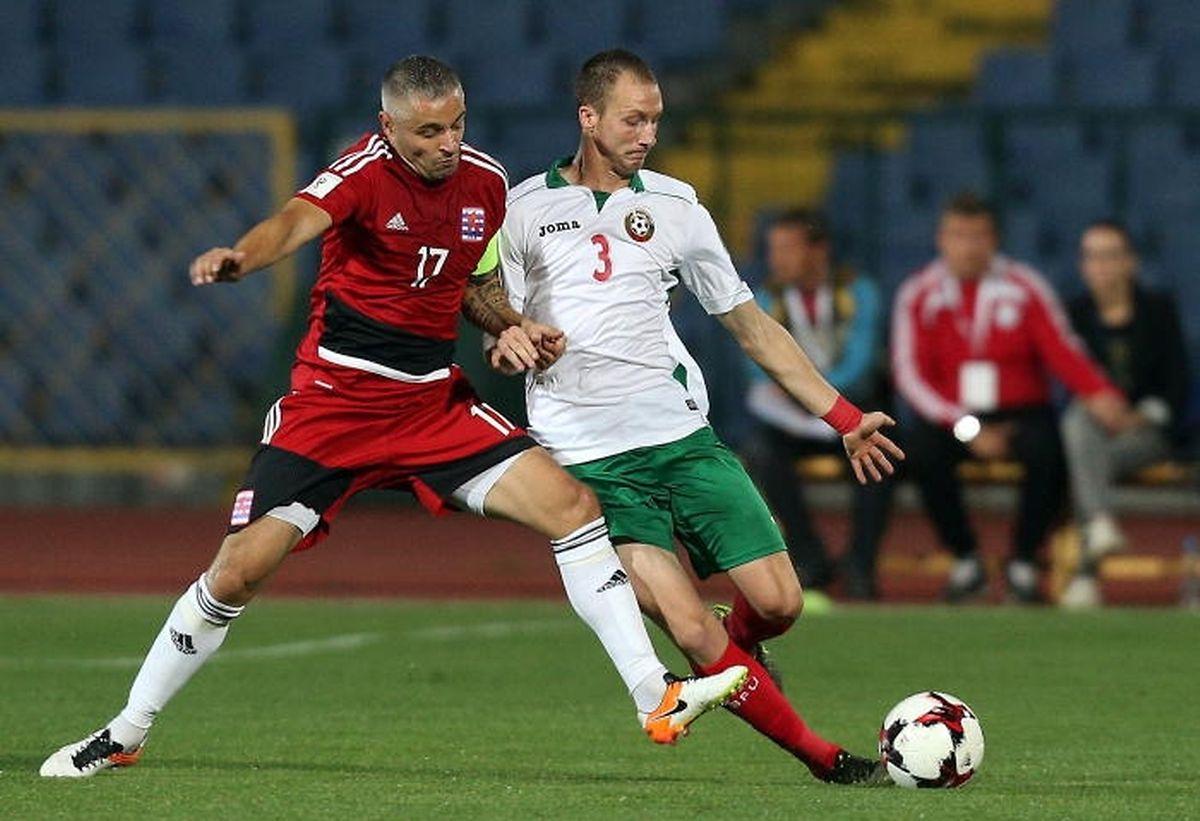 Mario Mutsch (à g., face au Bulgare Anton Nedyalkov) devrait redevenir titulaire ce jeudi contre la Hongrie