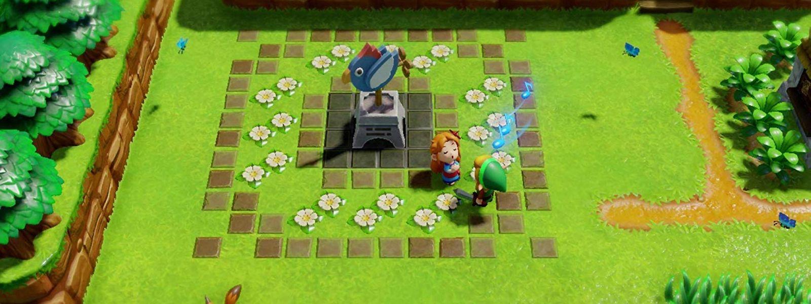"""Putziges Remake: Der Look des Originals wurde bei """"The Legend of Zelda: Link's Awakening"""" verändert, das Spielgefühl bleibt erhalten."""