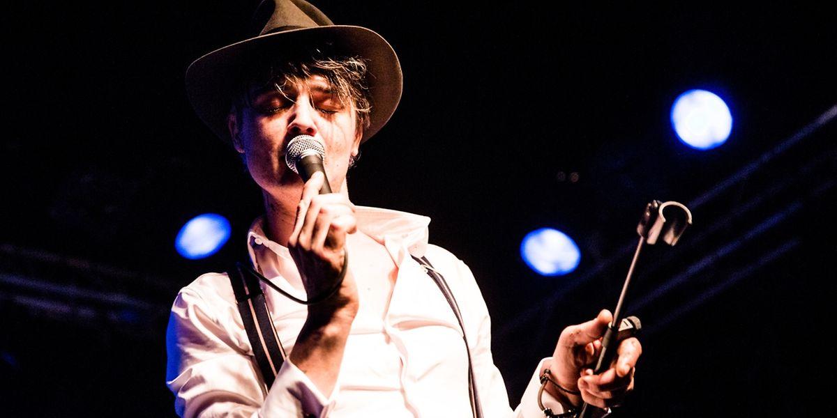 Pete Doherty während eines Konzerts im Atelier im Jahr 2017.
