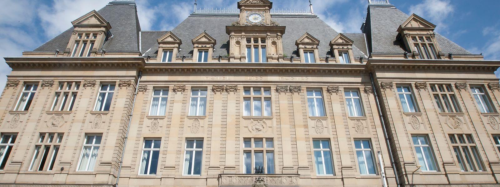Das historische Postgebäude am Centre Aldringen steht zur Zeit leer.