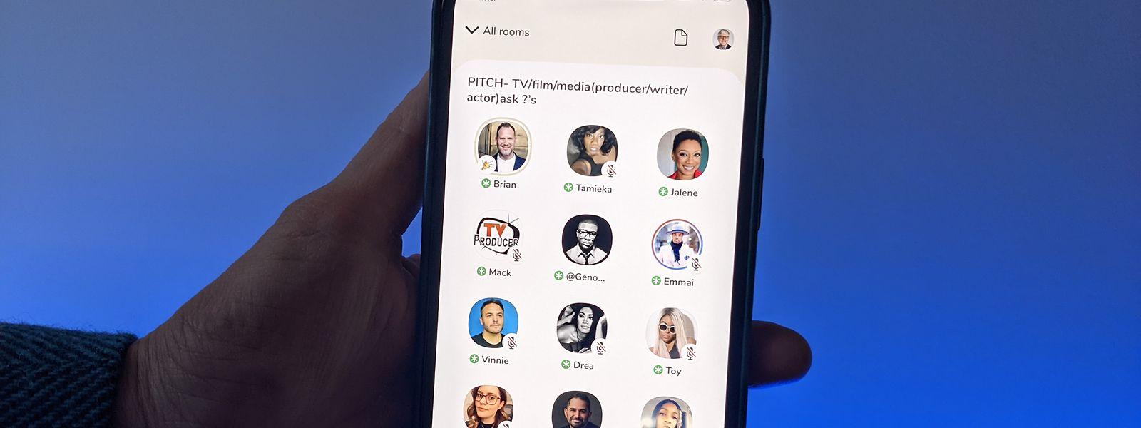 Bei Clubhouse können Nutzer in virtuellen Räumen einem Audio-Chat anderer Clubhouse-Anwender zuhören oder sich aktiv an dem Gespräch beteiligen.