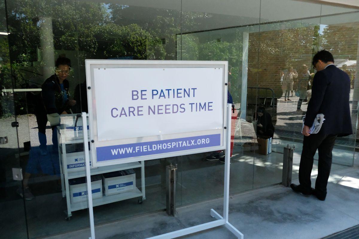 "Aya Ben Ron: ""Field Hospital X"""