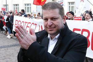 Raphaël Halet le 12 décembre 2016 à l'ouverture du procès Luxleaks en appel.