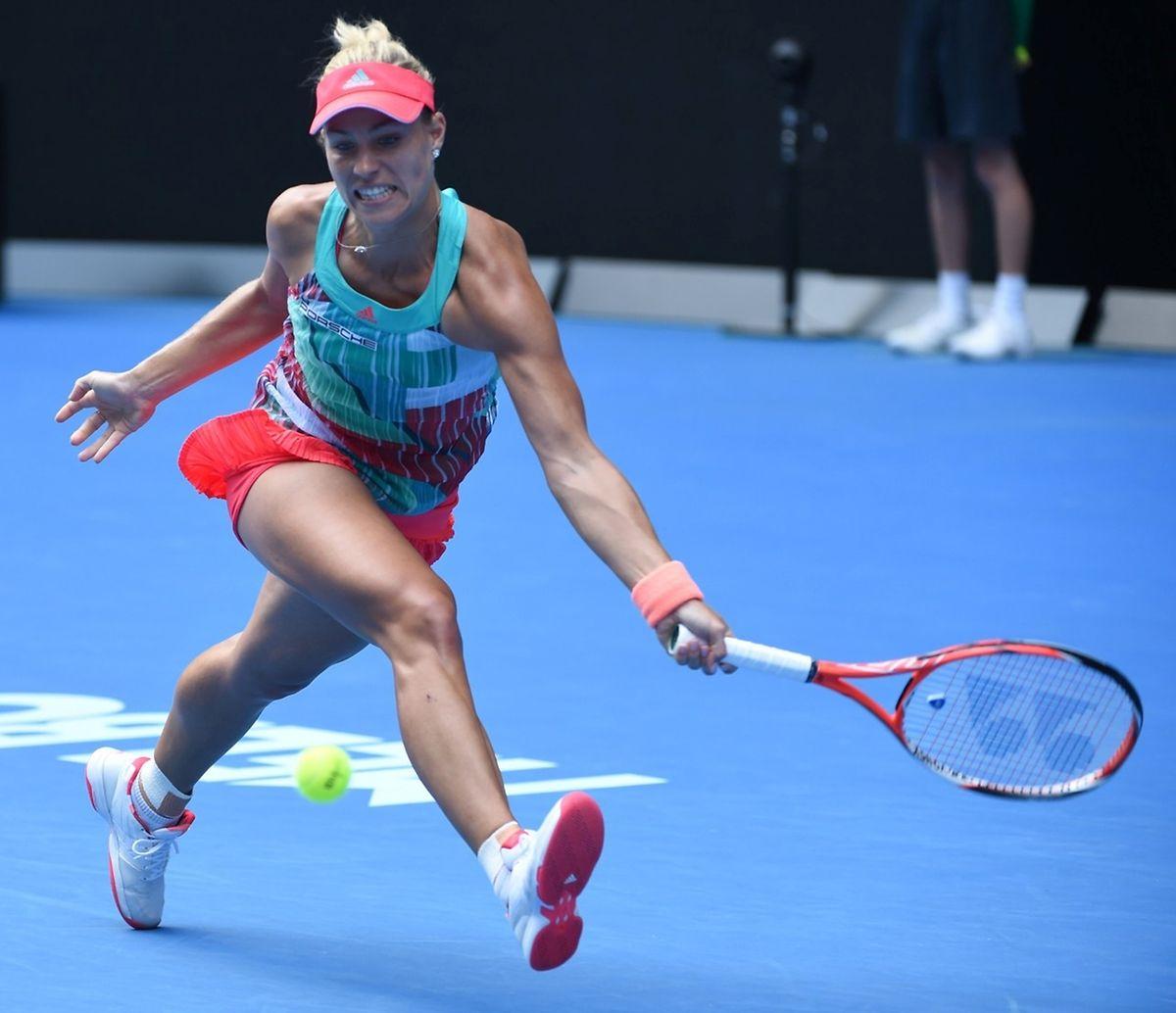 La gauchère Allemande Angelique Kerber disputera sa première finale en Grand Chelem, samedi face à Serena Williams