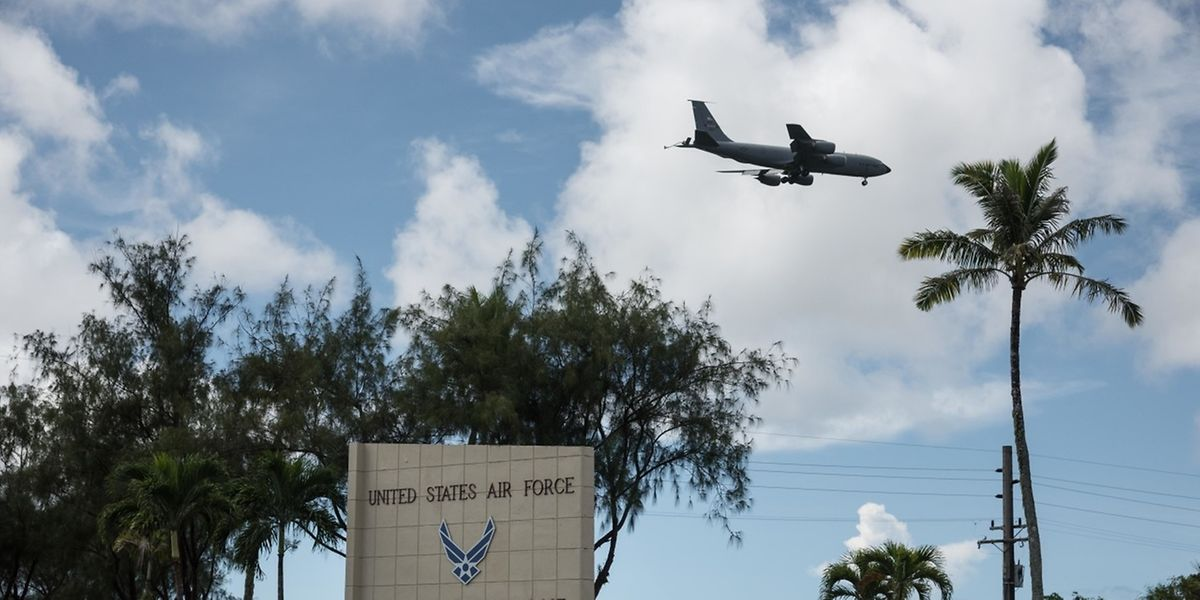 """Sollte ein Flugkörper US-Territorium, etwa auf der Pazifikinsel Guam, treffen, dann sei """"Game on"""", warnte der US-Verteidigungsminister."""
