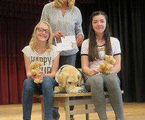 Fondation Majany parraine un chien d'Assistance pour ASA Asbl
