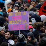Museu do Louvre fechado. Paris voltou à rua contra a reforma das pensões