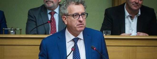 Finanzminister Pierre Gramegna