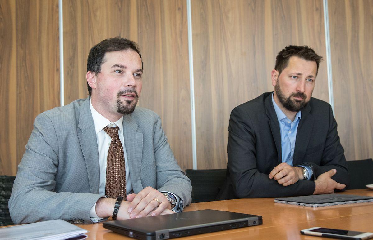 Jean Schiltz et Christian Tock.