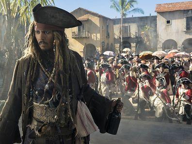 Johnny Depp ist wieder als Jack Sparrow unterwegs.