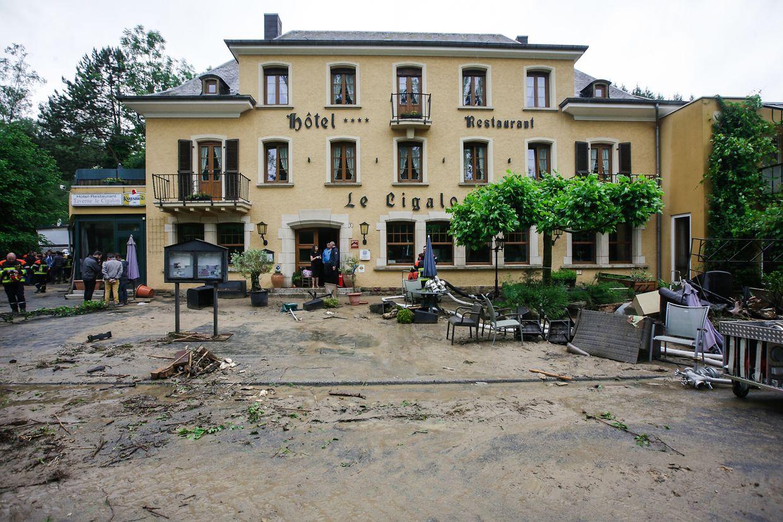 Les dégâts sont énormes dans le Mullerthal