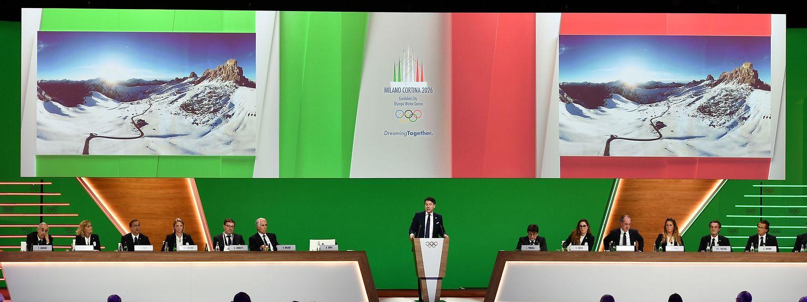 Le Premier ministre italien Giuseppe Conte a apporté tout son soutien au dossier.