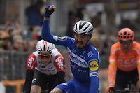 La sixième étape de Tirreno-Adriatico s'est réglée au sprint et c'est Julian Alaphilippe qui s'est montré le plus rapide.