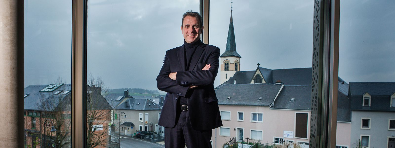 Félix Eischen a été élu bourgmestre de Kehlen en 2017.