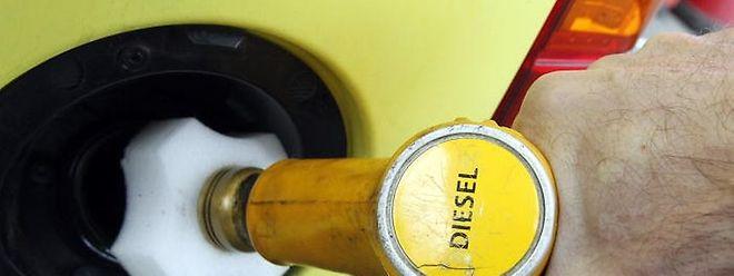 Ab Dienstag kostet der Liter Diesel 93,5 Cent.