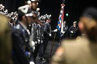 Passation des pouvoirs,Romain Nettgen ,Philippe Schrantz.Police Grand-Ducal. Foto:Gerry Huberty