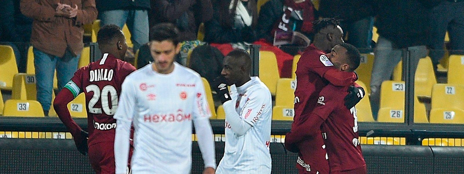 Les Messins n'ont pu faire mieux que match nul face au Stade de Reims.