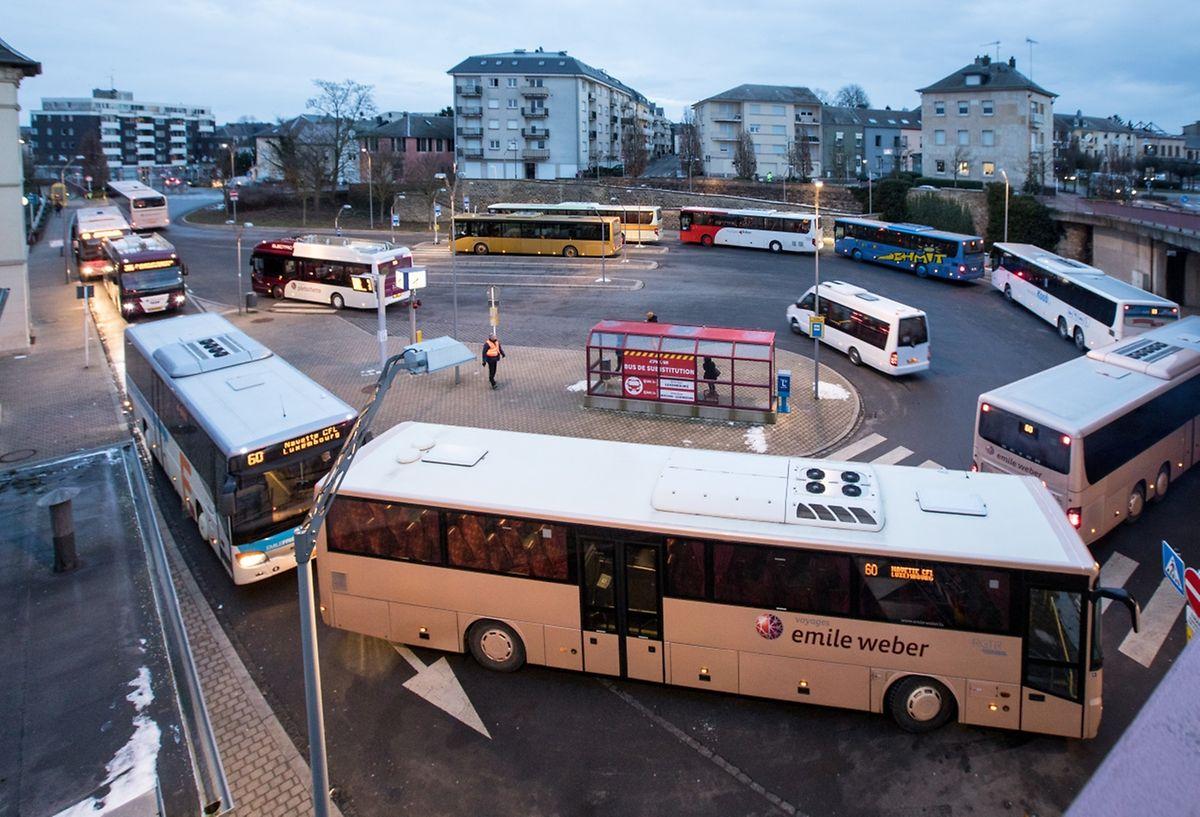 Des navettes circuleront toutes les cinq minutes entre Bettembourg et Luxembourg.