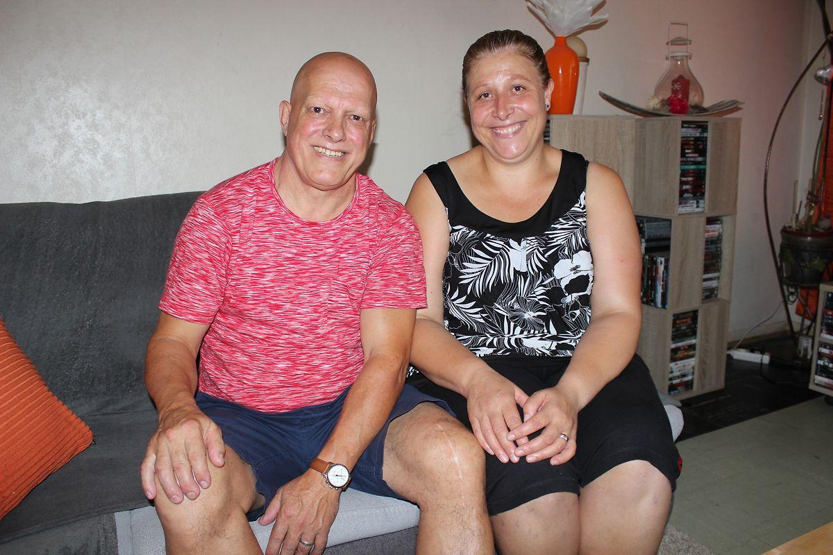 José Ramiro e Conceição Mota, pais de Dany Mota, têm sido um apoio importante na vida do filho