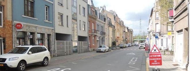 In der Escher Rue du Canal lieferte sich die Polizei eine Verfolgungsjagd.