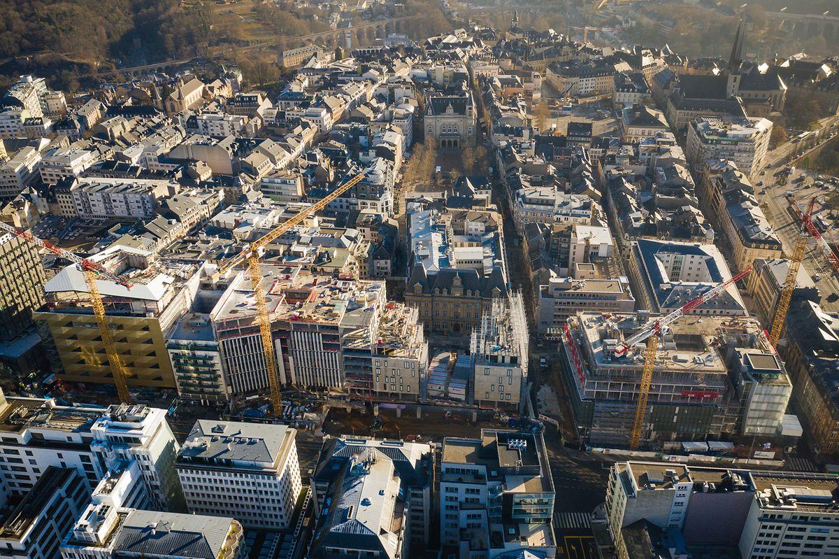 Le projet donne à la ville une toute nouvelle «entrée» à l'ouest. Dès la fin de l'année 2020, les passagers du tram pourront descendre directement à l'arrêt «Hamilius».