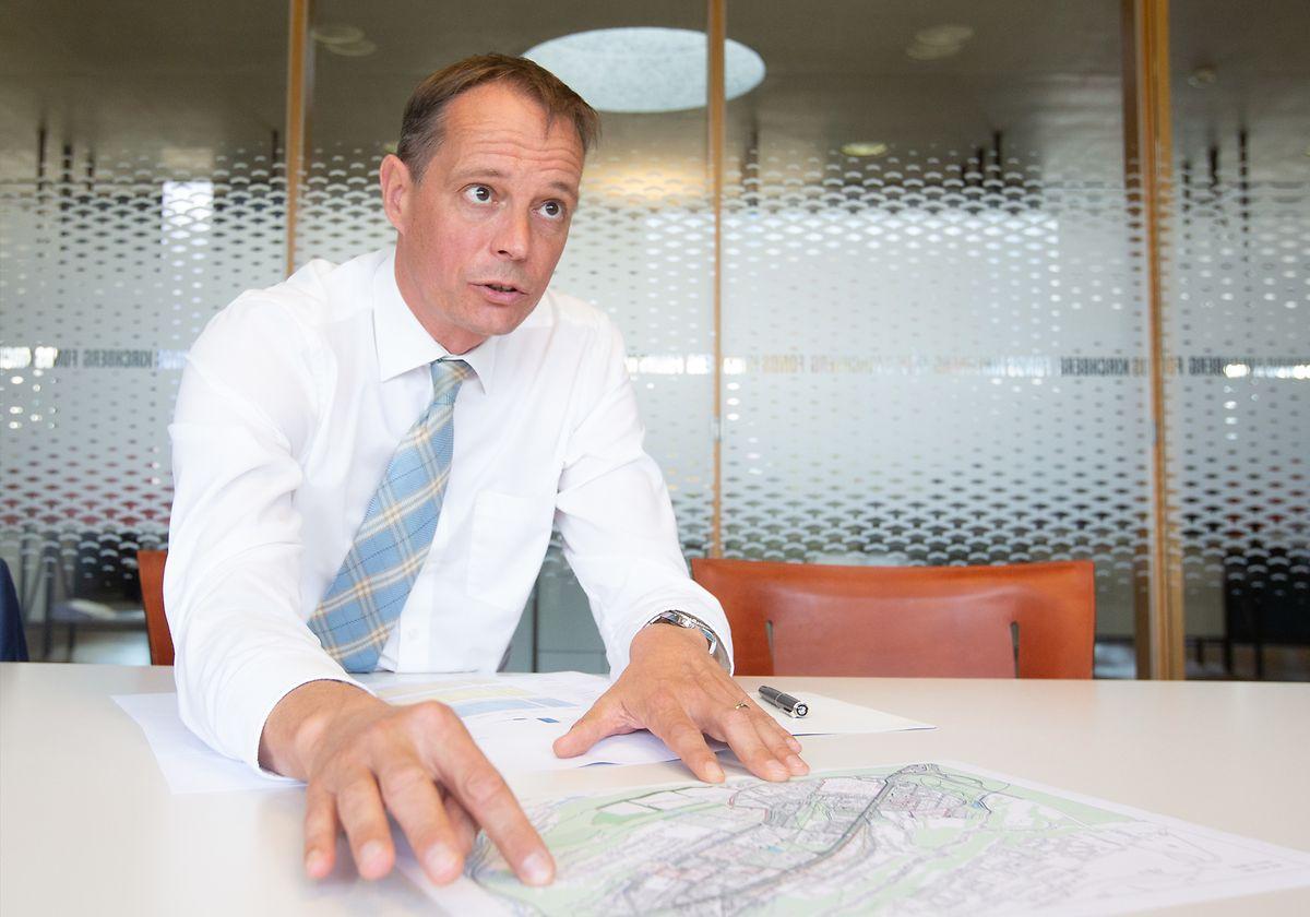 Tout comme le directeur du Fonds Belval ou du Fonds du Logement, Marc Widong endosse la gestion opérationnelle de l'établissement public.