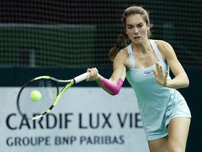07 Tennis Masters Endspiel der Frauen im CNT Esch am 20.11.2016 Eleonora MOLINARO