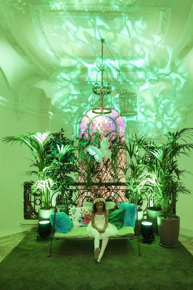 Kanner Wonsch hat den Cercle Cité einen Abend lang in ein Märchenparadies verwandelt.